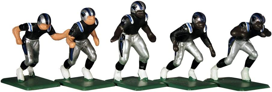Multicolor Carolina Panthers 11 Electric Football Players Pack of 11 Tudor Games 5-30-D NFL Home Jersey