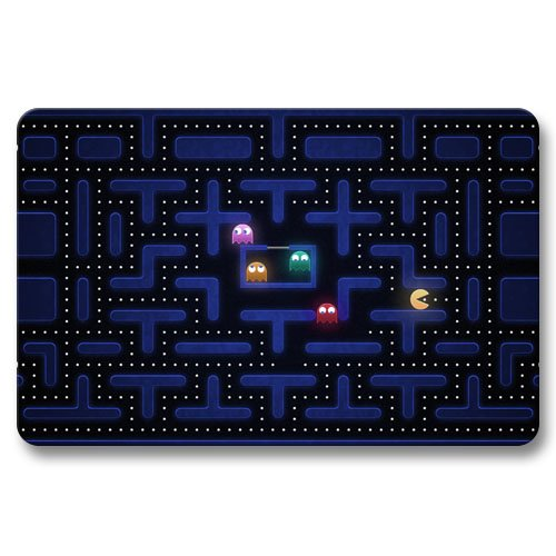 Decor Rug Non Skid Pac-Man Hd Home Door Doormat 16x24Inch / 40x60cm