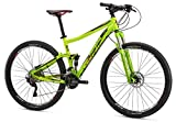 Mongoose Salvo Expert 29″ Wheel Mountain Bicycle, Green, 16″/Small For Sale