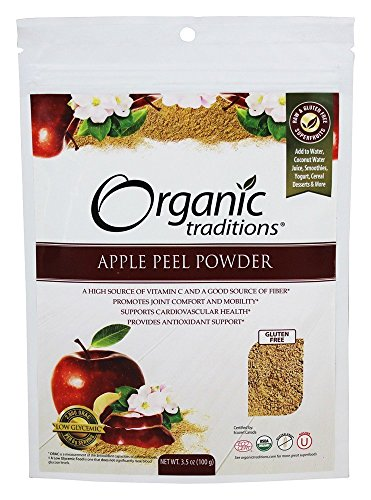 - Apple Peel Powder 3.5 Ounce (100 Grams) Pkg
