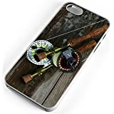 iPhone 6s 6 Case Fly Fishing Rod Reel Pole Trout Stream Creek Waders Hip Boots Clear Rubber