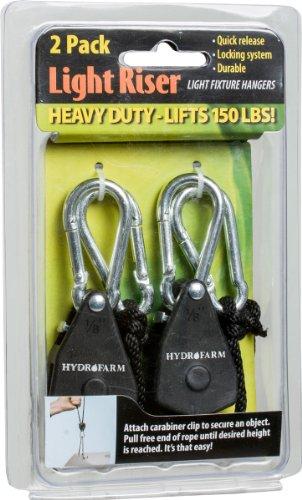 Hydrofarm LULIFT Lift Reflector Light Hanging System, 1/8-Inch by Hydrofarm