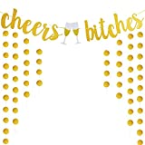 Cheers Bitches Banner For Bridal Shower Bachelorette Engagement Party Decorations