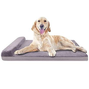 Amazon.com: JoicyCo - Cama de espuma grande para perro ...