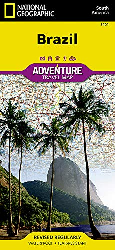 Brazil (National Geographic Adventure Map)...