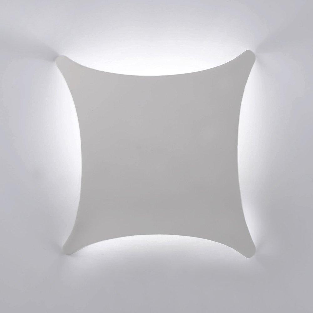 Modern ceramic uplighter wall wash wall light