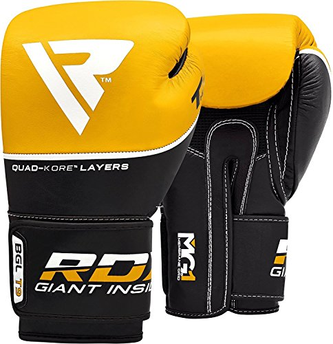 RDX-Ace-Boxing-Gloves-Muay-Thai-Training-Genuine-Cow-Hide-Leather-Sparring-Punching-Bag-Mitts-kickboxing-Fighting