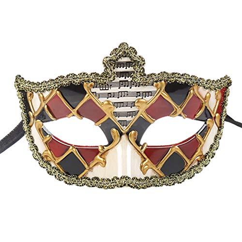 Venetian Masquerade Masks Antique Mask Halloween Costume Mardi Gras Party -