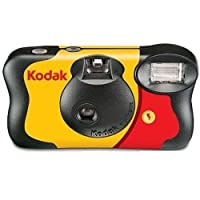 Kodak FUN Flash Single Use Camera, 27+12 pic - Film Cameras (27+12 pic)