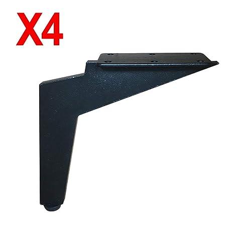 GJY Patas de sofá de Metal Ajustable Resistente, niveladores ...