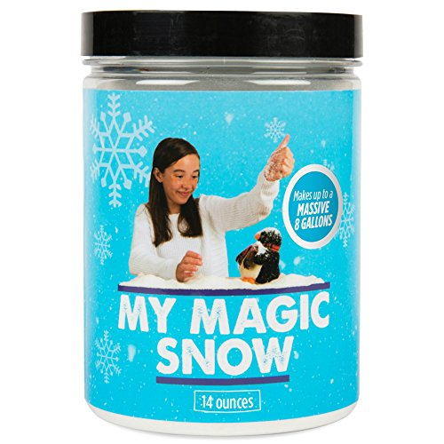 [My Magic Snow Powder (8 Gallons) - Create Instant (Fake / Artificial) Snow In Seconds. Great For Professional Magicians, Party Tricks & Props | Perfect For School Science Projects] (Snow White Props)