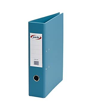Pardo 245403 - Archivador plástico, palanca 70 mm, DIN A4, color azul: Amazon.es: Oficina y papelería