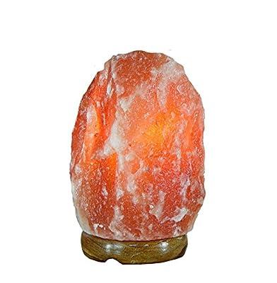 Himalayan Salt Lamp Natural Air Purifier Ionic Rock Light Crystal Tower 7 ~ 10 Lbs, High 7.5 inch