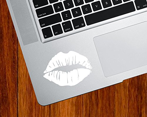 Hot Lips Kiss Mark - Trackpad | Tablet | Computer - Vinyl Decal Sticker YYDC (2.5