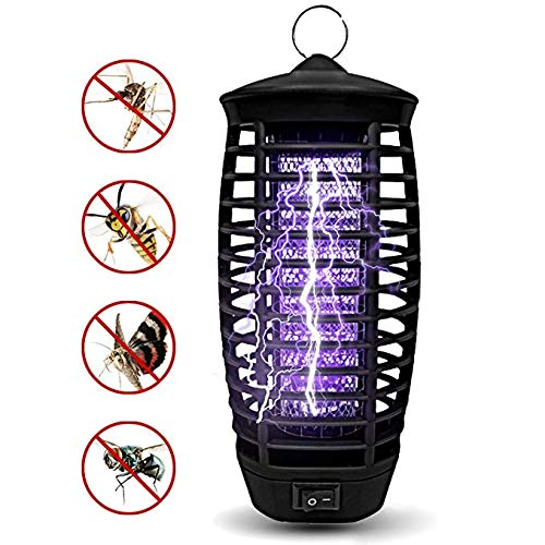 Gogogu 2019 Upgraded Mosquito Killer Bug Zapper with Hook, Flying Insect Trap for Indoor and Outdoor