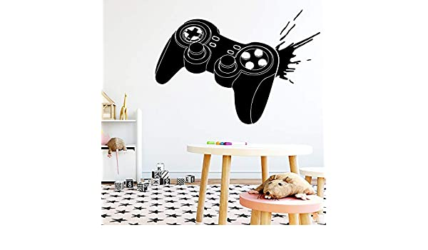 Diy Art Game Handle Wall Art Decal Stickers Pvc Material ...