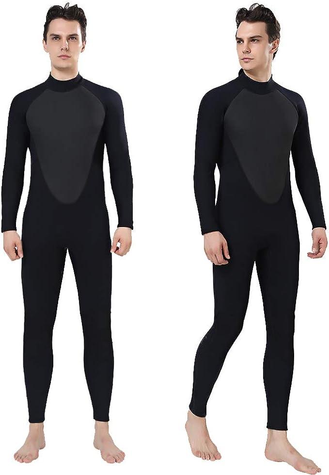Farbe : Blau , Size : L M/änner Neoprenanzug Wetsuit M/änner Voll 5mm Surfen Anzug Taucheranz/üge surfen schwimmen lange H/ülse for Tauchen Schnorcheln Surfen Spear Zum Tauchen Surfen Schnorcheln