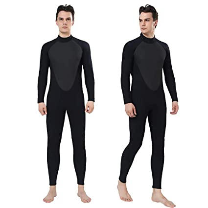7ca011b0e2 Realon Wetsuit Men Full 2 3mm Surfing Suit Diving Snorkeling Swimming  Jumpsuit (2