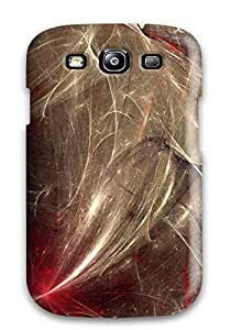 New Tpu Hard Case Premium Galaxy S3 Skin Case Cover(abstract Fractal)