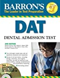 img - for Barron's DAT: Dental Admissions Test by Richard Lehman D.D.S. (2009-07-01) book / textbook / text book