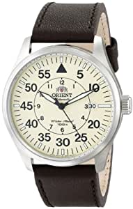 Orient Men's FER2A005Y0 Flight Analog Display Japanese Automatic Brown Watch