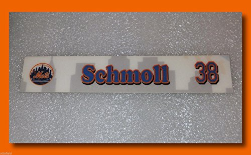Dodgers Mlb Clubhouse (Ny Mets Game Used Steve Schmoll Clubhouse Locker Room Name Plate Tag La Dodgers - Game Used MLB Stadium Equipment)