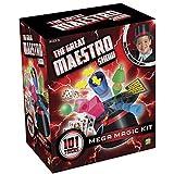 Kit De Mágica Mega Com 101 Truques + Cartola De Mágico Indicado Para +7 Anos Colorido Multikids - Br661 Multikids Colorido
