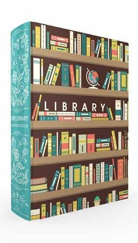 Home Library Book Box Puzzle PDF