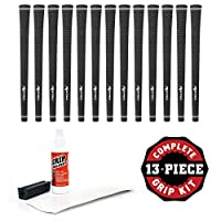 Karma Velour Golf Grip Kits (13 Grips with Tape, Solvent & Vise Clamp