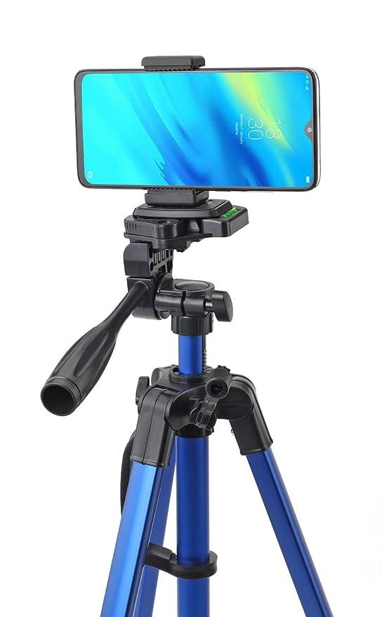 Simpex Camera Tripod 6633 with Mobile Holder Bracket for Smartphones, DSLR and Cameras  Blue