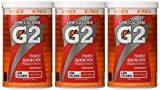 Gatorade Perform 02 Powder Packet G2 - Fruit Punch (8 - 0.52 oz packets per canister) (Pack of 3 canisters)