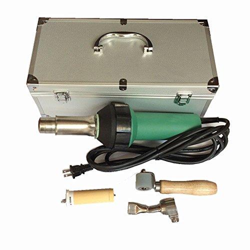 Bhoss 1600w 120v Hot Air Plastic Welding Gun Heat Gun Hot Air Gun Pvc Welder Plastic Welding for Pvc,pp,pe ,Pvdf by Bhoss (Image #5)