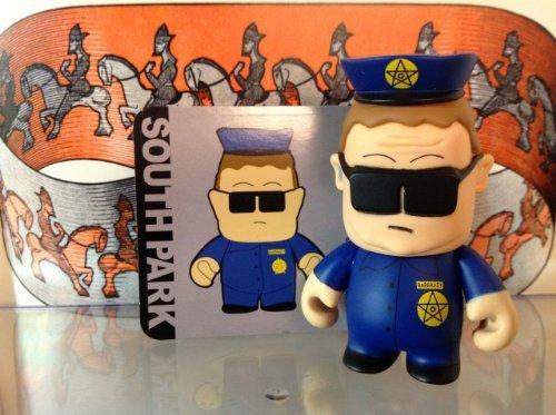 (Kidrobot South Park Mini 3-inch Figure - OFFICER BARBRADY )