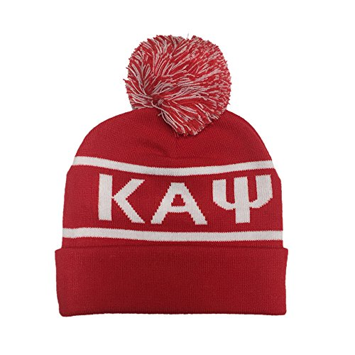 Kappa Alpha Psi Fraternity Letter Winter Beanie Hat Greek Cold Weather Winter NUPE - Kappa Beanie