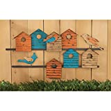 Madison Collection Birdhouse Bungalow Wall Sculpture
