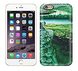 Premium PEACOCKS Art NO.9 Case For Iphone 6- Eco-friendly Packaging