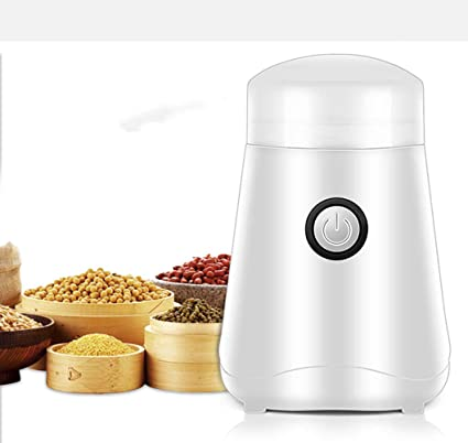 WUANNI Molinillo De Café Eléctrico Especias Y Máquina De Café Espresso Portátil con Cuchillas De Acero