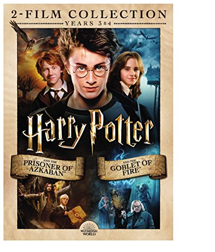 Harry Potter: Prisioner of Azkaban / Goblet of Fire (2pack/DVD) (DVD) (Harry Potter Movies Complete Set)