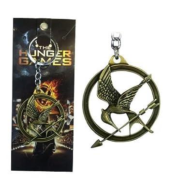 The Hunger Games - Llavero metálico con logotipo del sinsajo ...
