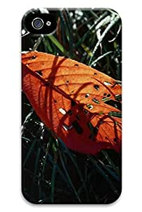 cool-gg Leaves injured PC Hard new Top grade case for iphone 4 / 4s