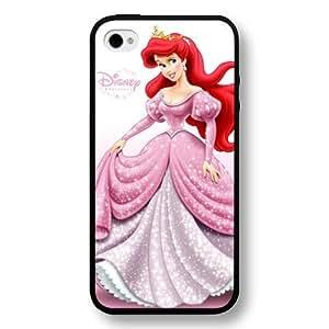 Diy White Frosted Disney Cartoon Movie Aladdin Jasmine For Samsung Glass S4 Cover case