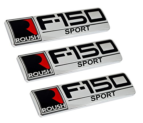 Long Rear Fender (Roush F-150 Sport Ford Truck Fender & Rear Tailgate Emblems - 8