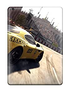 High Quality Alicsmith Grid Autosport Skin Case Cover Specially Designed For Ipad - Air