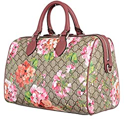 Gucci Women's Multi-Color Bloom Leather Boston Shoulder Bag