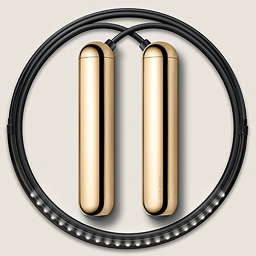 Tangram Smart Rope Fitness Jump LED Display (Gold, Medium) by TANGRAM