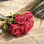 YJYdada-Artificial-Silk-Fake-Flowers-Roses-Floral-Wedding-Bouquet-Bridal-Decor
