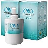 NuTruFlo NTF-02 Samsung DA29-00003G Refrigerator Water Filter Replacement For Samsung da29 00003g DA29-00003A, DA29-00003B, DA61-00159A, HAFCU1, da2900003a Refrigerator (2 pack)