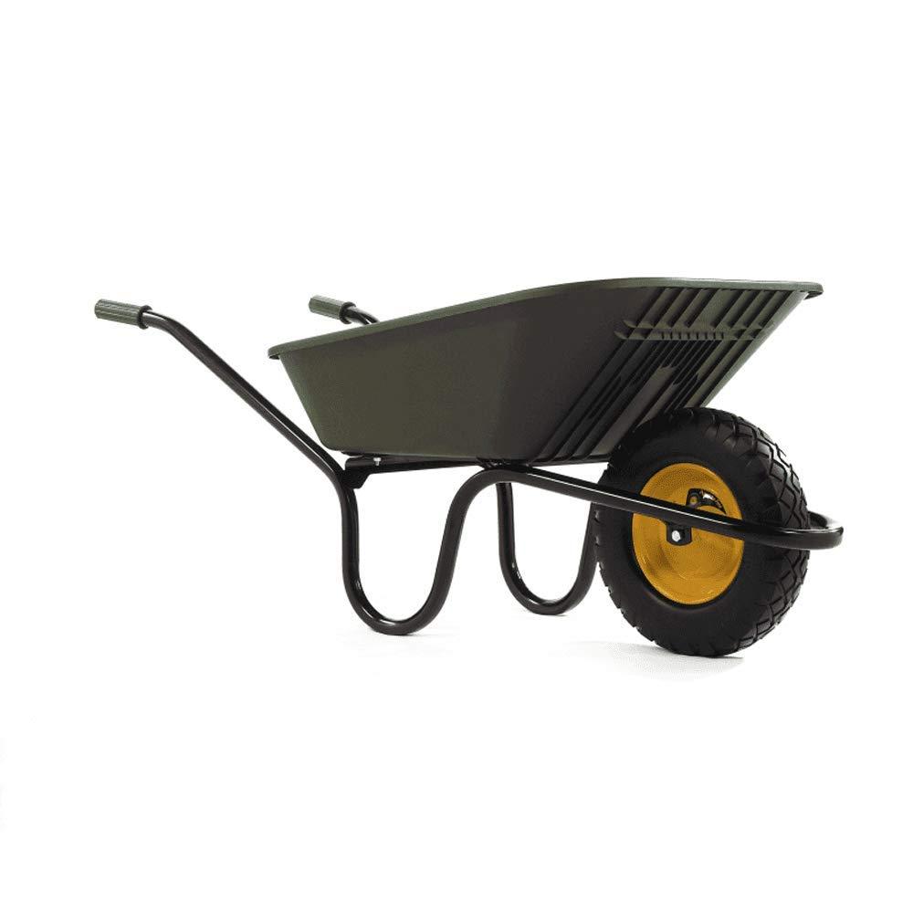 Haemmerlin Vibrante Go 90LTR Punture Free Wheelbarrow Green Puncture Free Tyre Green