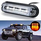 AGPtek® 4 LED Car Truck RV Emergency Beacon Flash Light Bar Hazard Strobe Warning Emergency Light