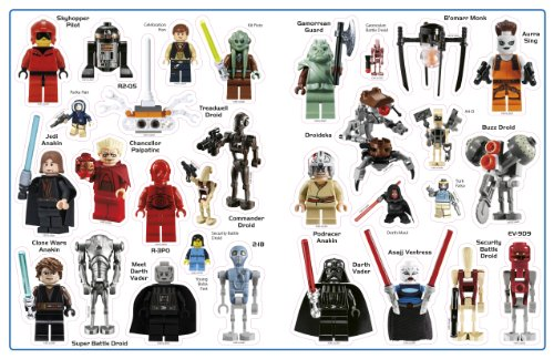 Ultimate Sticker Collection: LEGO Star Wars: Minifigures (Ultimate ...